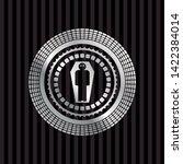 dead man in his coffin icon...   Shutterstock .eps vector #1422384014