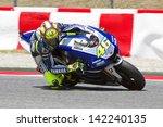 Постер, плакат: Valentino Rossi of Yamaha