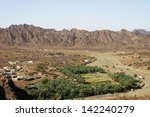 a farming village in oman ... | Shutterstock . vector #142240279