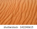 abstract of desert patterns in... | Shutterstock . vector #142240615