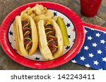 Hot Dogs At A July 4th...