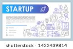 startup launch banner  business ...