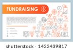 fundraising banner  business...