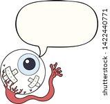 cartoon injured eyeball with...   Shutterstock .eps vector #1422440771