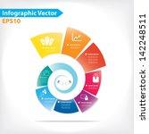 colorful vector design for... | Shutterstock .eps vector #142248511