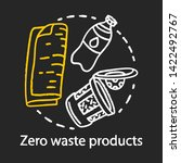 zero waste products  recycling... | Shutterstock .eps vector #1422492767