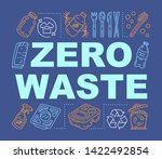 zero waste products word...