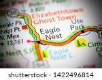 Eagle Nest. New Mexico. Usa On...