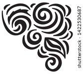 beautiful nature pattern of... | Shutterstock .eps vector #1422530687