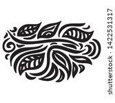 beautiful nature pattern of... | Shutterstock .eps vector #1422531317