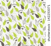 seamless pattern with abstract... | Shutterstock .eps vector #142253371