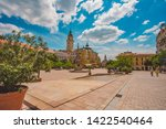 pecs  hungary   may 2019  view... | Shutterstock . vector #1422540464