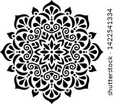 Mandala Pattern Stencil Doodles ...