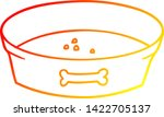 warm gradient line drawing of a ... | Shutterstock .eps vector #1422705137