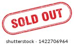 sold out square grunge isolated ... | Shutterstock .eps vector #1422706964
