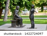 the monument to the cadets  the ... | Shutterstock . vector #1422724097