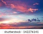 Beautiful Colorful Sky. Sky...