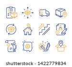 return parcel  algorithm and... | Shutterstock .eps vector #1422779834