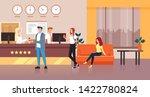 hotel reception concept. vector ...   Shutterstock .eps vector #1422780824
