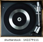 record player | Shutterstock . vector #142279111