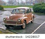 Vintage Morris Minor At...