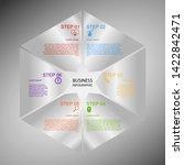 business infographics  geometry ... | Shutterstock .eps vector #1422842471