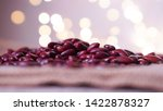 red beans and blurred background | Shutterstock . vector #1422878327