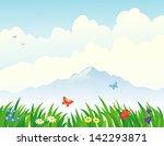 vector illustration of... | Shutterstock .eps vector #142293871