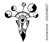 abstract geometric symbol  logo ...   Shutterstock .eps vector #1422968027