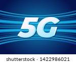 5g speed new wireless internet... | Shutterstock .eps vector #1422986021
