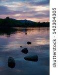 Derwent Water At Sunset