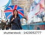 Pretty London Traveler Woman...