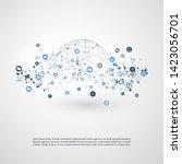 internet of things  cloud... | Shutterstock .eps vector #1423056701