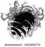 this vector clip art is... | Shutterstock .eps vector #142306771