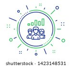 teamwork results line icon.... | Shutterstock .eps vector #1423148531