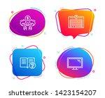 sharing economy  parking garage ... | Shutterstock .eps vector #1423154207