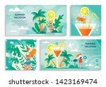 set sticker with inscription... | Shutterstock .eps vector #1423169474