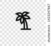palm tree icon from... | Shutterstock .eps vector #1423247867