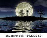 romantic night | Shutterstock . vector #14233162