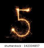 """Number """"five"""" Sparklers On..."""