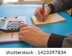 savings  finances  economy and... | Shutterstock . vector #1423397834