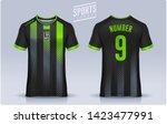 t shirt sport design template ... | Shutterstock .eps vector #1423477991