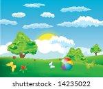 nature   vector illustration | Shutterstock . vector #14235022