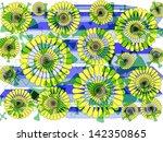 bright modern abstract design... | Shutterstock . vector #142350865