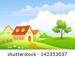 vector  illustration of a... | Shutterstock .eps vector #142353037