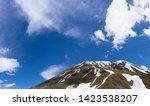 Mountain Peaks Slopes Against Blue - Fine Art prints