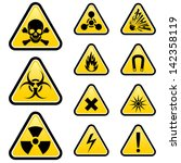 Signs Of Danger. Illustration...