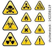 Signs Of Danger. Illustration...