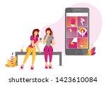 poster design for photo editing ...   Shutterstock .eps vector #1423610084