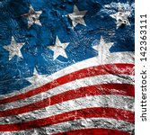 usa style background on old... | Shutterstock . vector #142363111